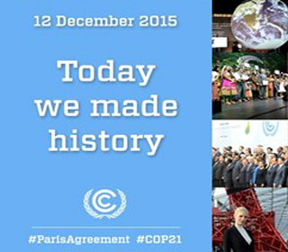 Climate Imperative - Historic Agreement on Addressing Climate Change at Paris Conference