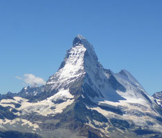 Surrounded by The Matterhorn and Many More Snow-capped Peaks