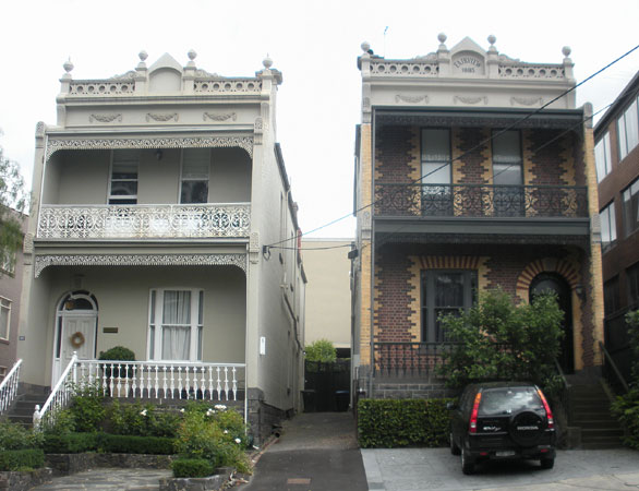 we visited many melbourne neighborhoods discovering a diversity of architectural styles from the characteristic victorian terrace homes to more modern - Australian Victorian Houses